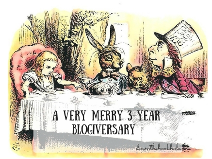 A VERY MERRY 3-YEAR BLOGIVERSARY